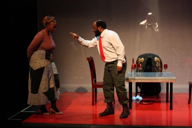 Nkoto Malebye as Martha, Lebohang Masimola as Tlhogo Moimele and Tshepo Seagiso as Gogoa.