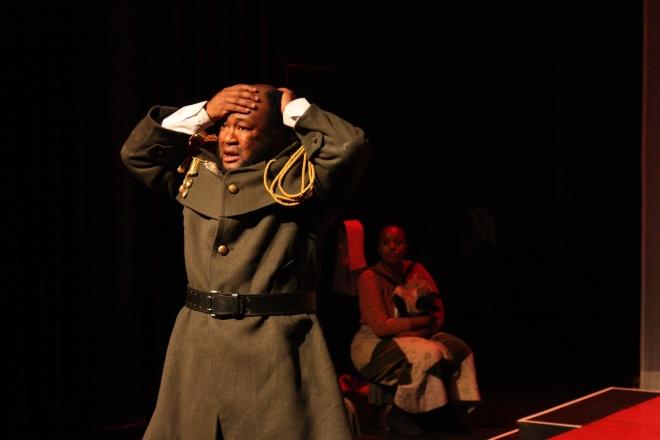 Lebohang Masimola as Tlhogo Moimele and Nkoto Malebye as Esmiralda.